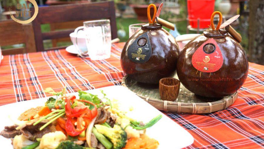 Rượu dừa Bến Tre hương vị của miền tây