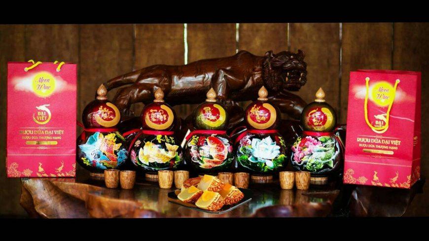 Rượu Dừa Bến Tre Trung Thu quà tặng Trung Thu cao cấp