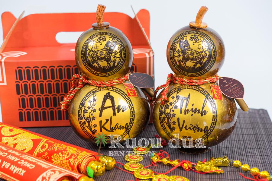 Rượu dừa hồ lô An Khang - Thịnh Vượng