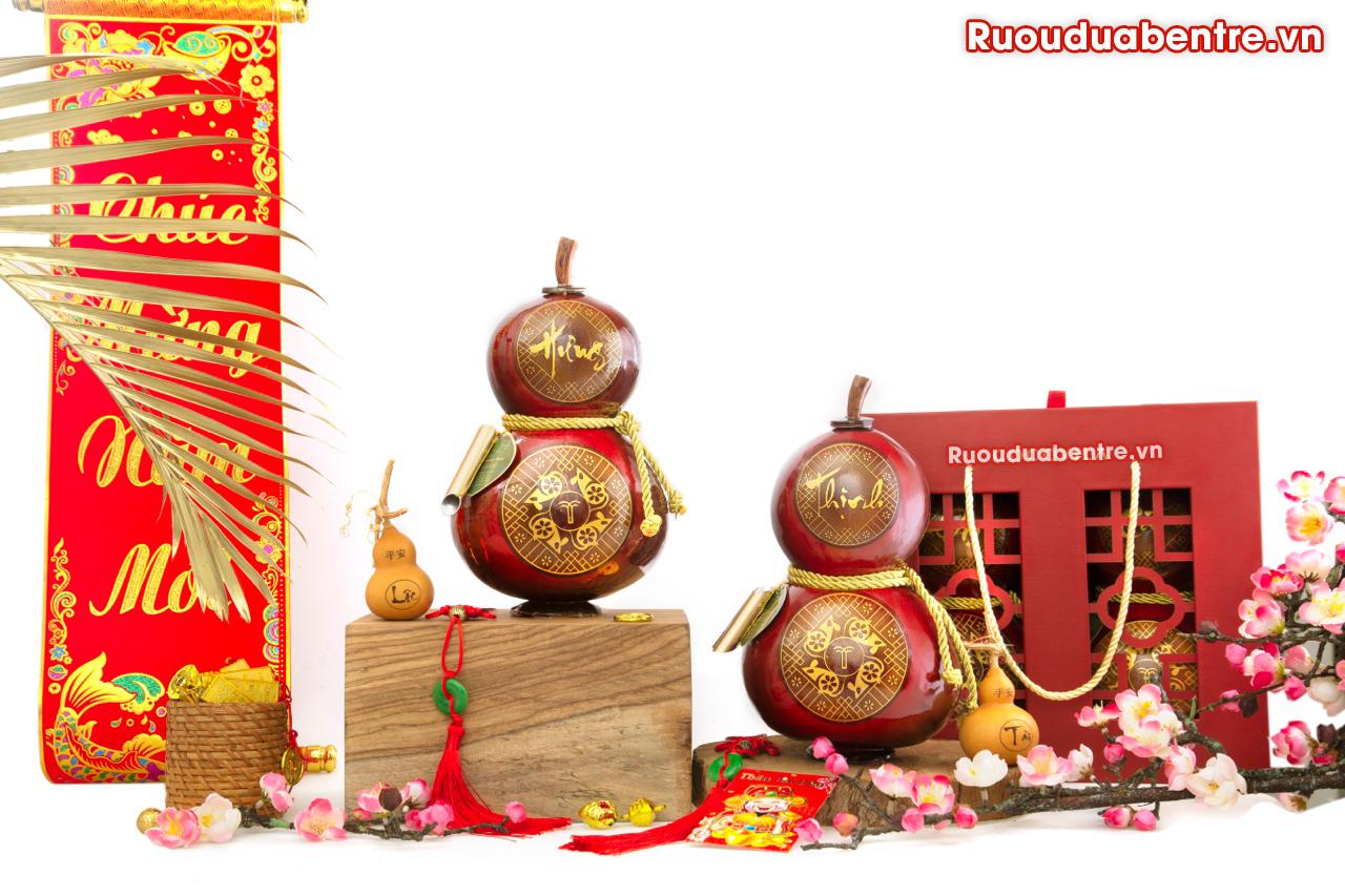 Rượu dừa Bến Tre tết Hưng Thịnh